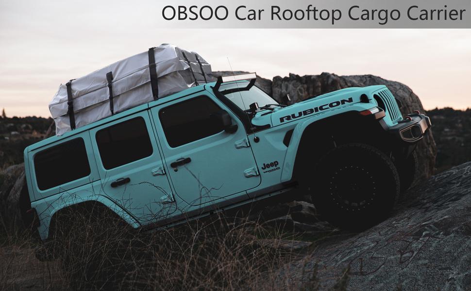 OBSOO Car Rooftop Cargo Carrier Bag