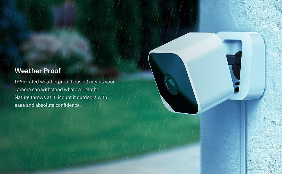 Weatherproof outdoor security camera