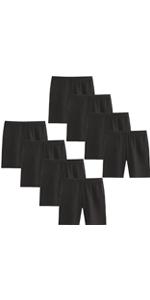 Adorel Braguitas bajo Vestidos Leggings Niñas Paquete de 8