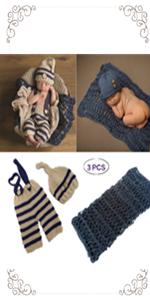3 PCS Newborn Photography Prop
