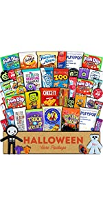halloween care package candy trick or treat snacks food gift box for boys girls kids children men