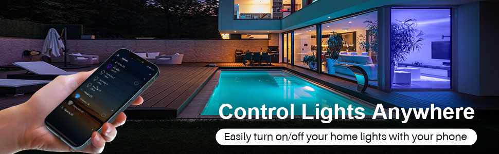 control lights anywhere