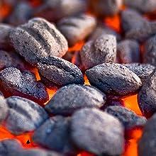 charcoal briquette starter