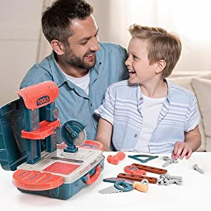 Kid Tool Toy make son play with father