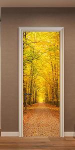 Fymural Door DIY Wall Decals