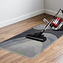 easy to clean with vacuum cleaner