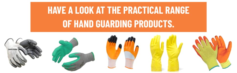 SAFEYURA Cut ProtectionGarden SafetyGloves,Thorn, Cut, Puncture Proof Excellent Grip-1 Pair SPN-FOR1