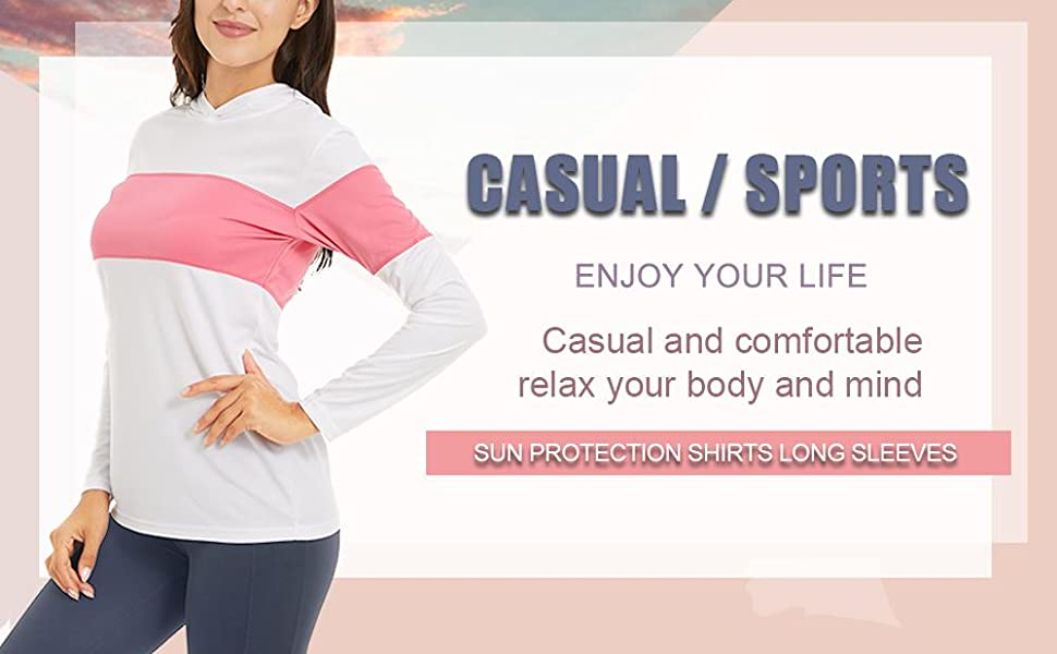 sun protection quick dry summer long sleeves running training workout tee shirt top for women