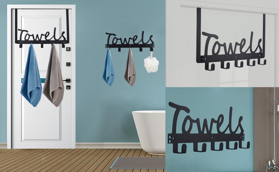 bathroom over the door towel racktowel holder towel hook door hooks towel racks wall mounted hook