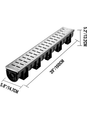 trench drains for driveways