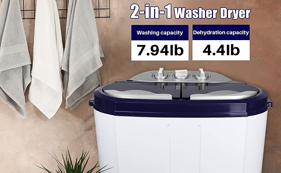 Portable mini washing machine. It is easy to use, does not take up space, and can save water.