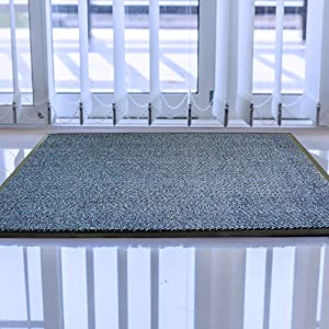 Ultralux Indoor Non-Slip Entry Mat Blue