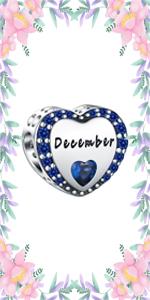 December Birthstone Charms