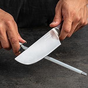 couteau chef maintien