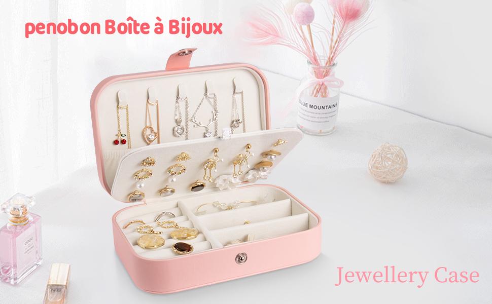 penobon Boîte à Bijoux