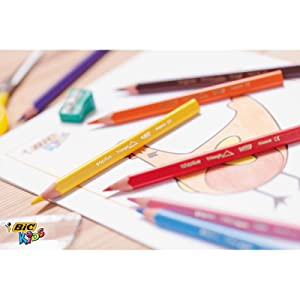 BIC Kids Triangular Pencils are specially designed for use with kids