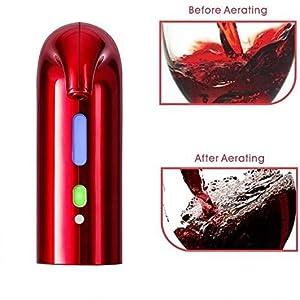 Wine Aerator, Electric Wine Aerator Pourer, Wine Dispenser Pump Portable
