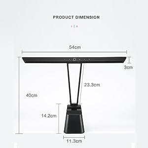 Piano light for upright piano