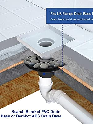 FITS us flange drain base system
