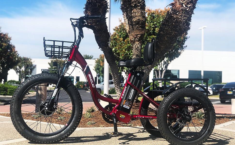 Red Caddy Pro Trike