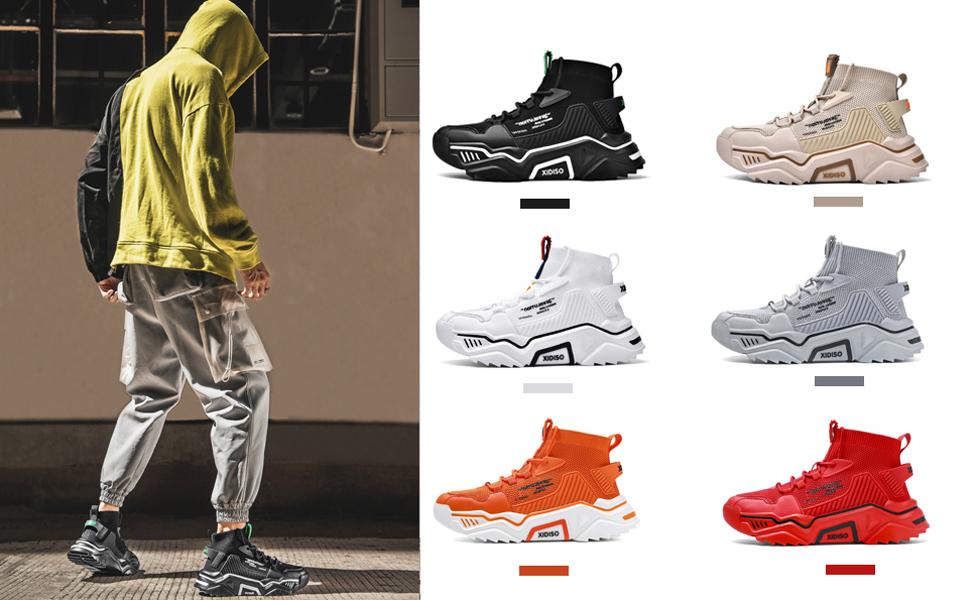 platform sneakers for men