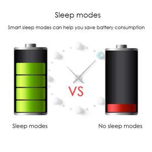 2 sleep modes to save power