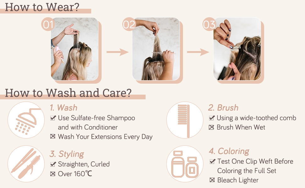 remy hair extensions human hair clip in hair