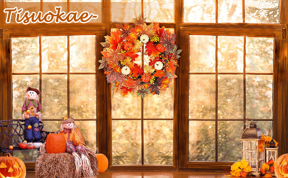 Halloween Fall Wreath