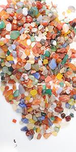 colorful small rocks