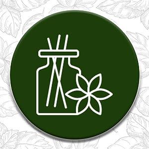 Speaking Tree Premium Empty Refillable Reusable Roll on Glass Bottles for Essential oils SPN-FOR1