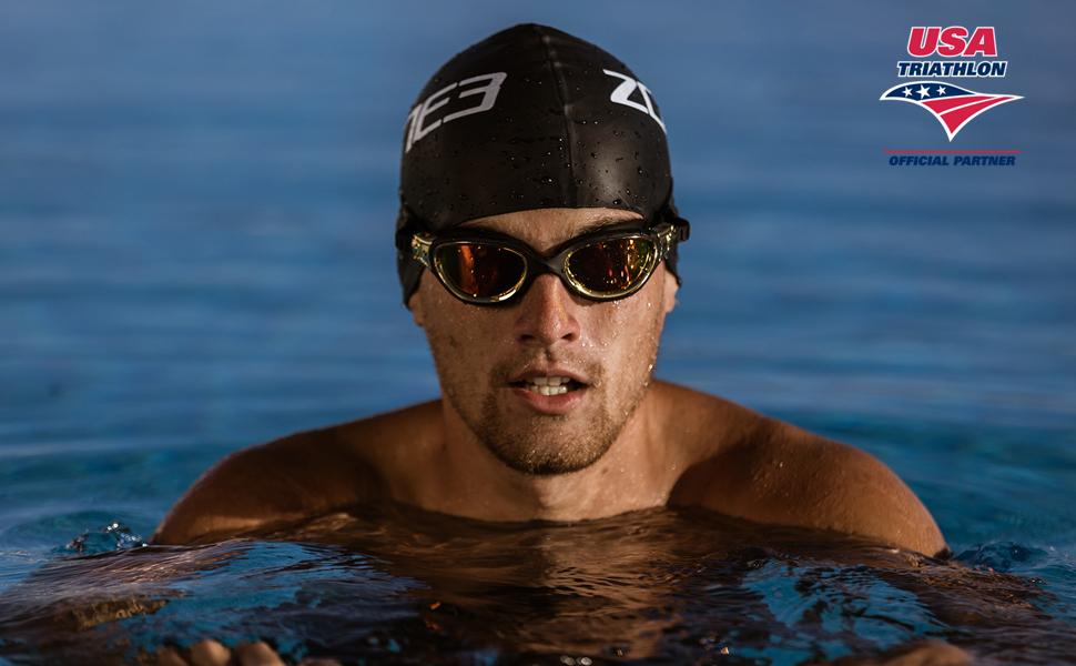 Zone3 USAT Vapor Swim Goggles