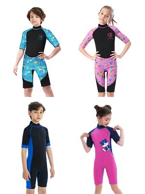 short sleeves neoprene wetsuit 3mm