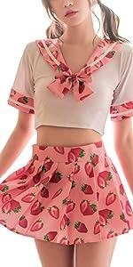 Schoolgirl Lingerie Set 2
