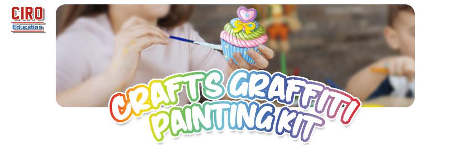 crafts graffiti painting kit