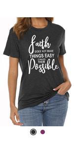 faith shirt for women