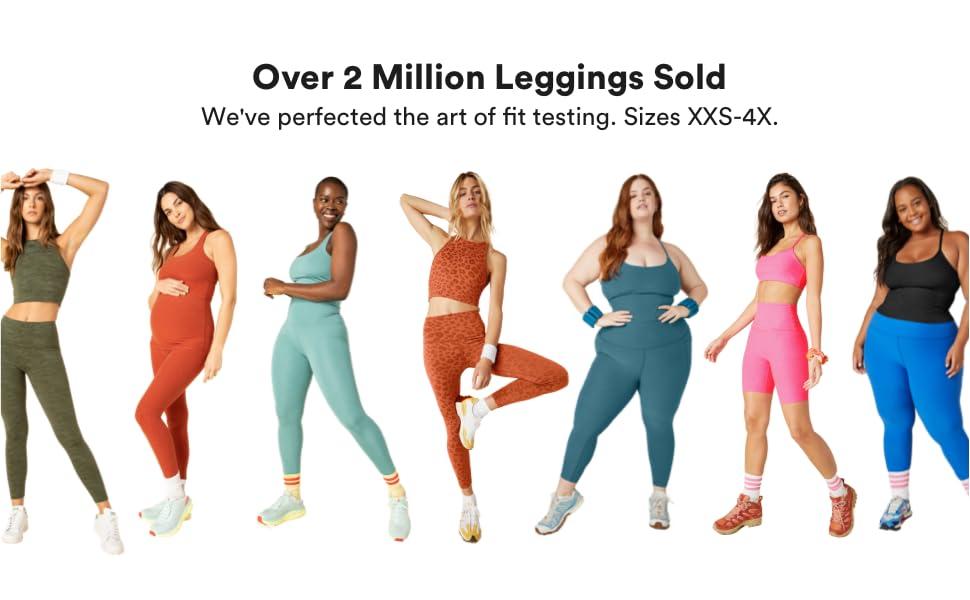 Over 2 Million Leggings Sold