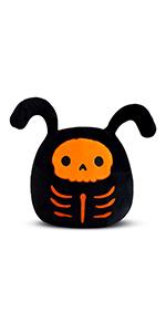 Stuffed Animal Skeleton Plush Toy for Halloween, Anime Kawaii Soft Body Pillow Cushion,