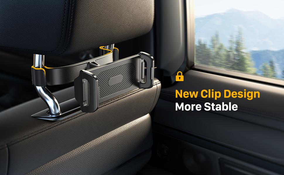 new clip ipad holder for car