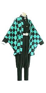 Kamado Tanjirou Cosplay Costume