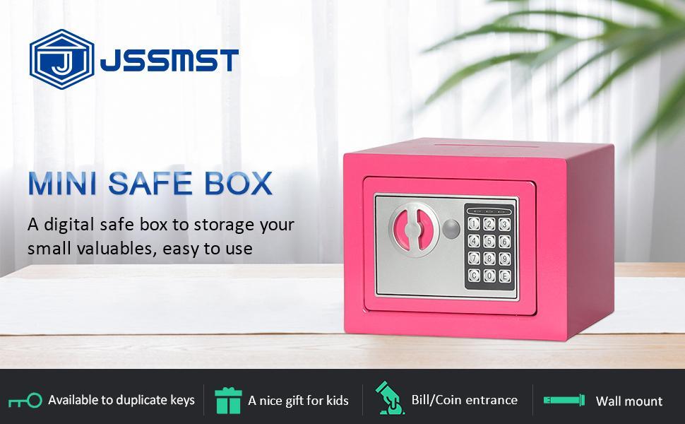 safe box 17 pink