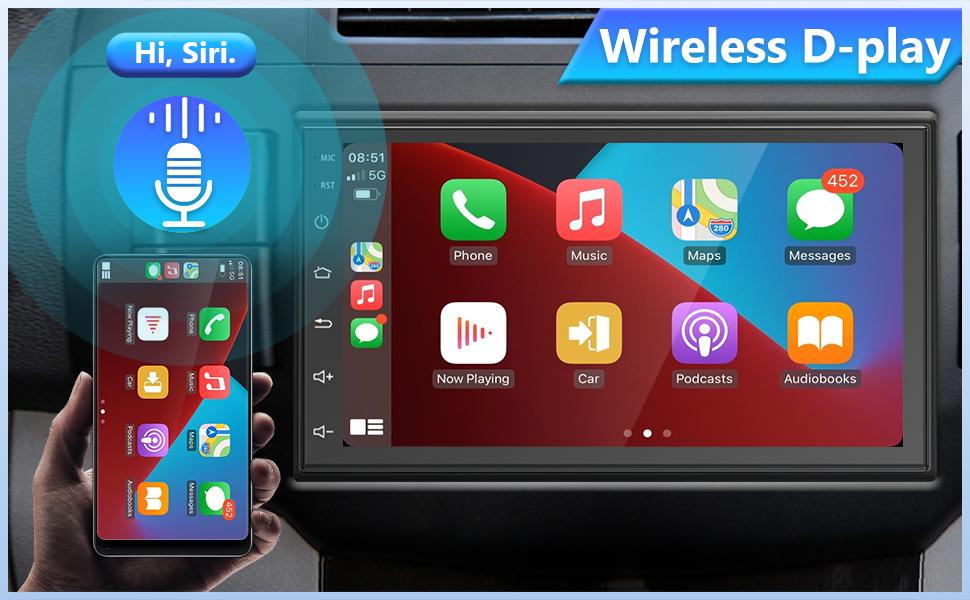 Wireless D-play