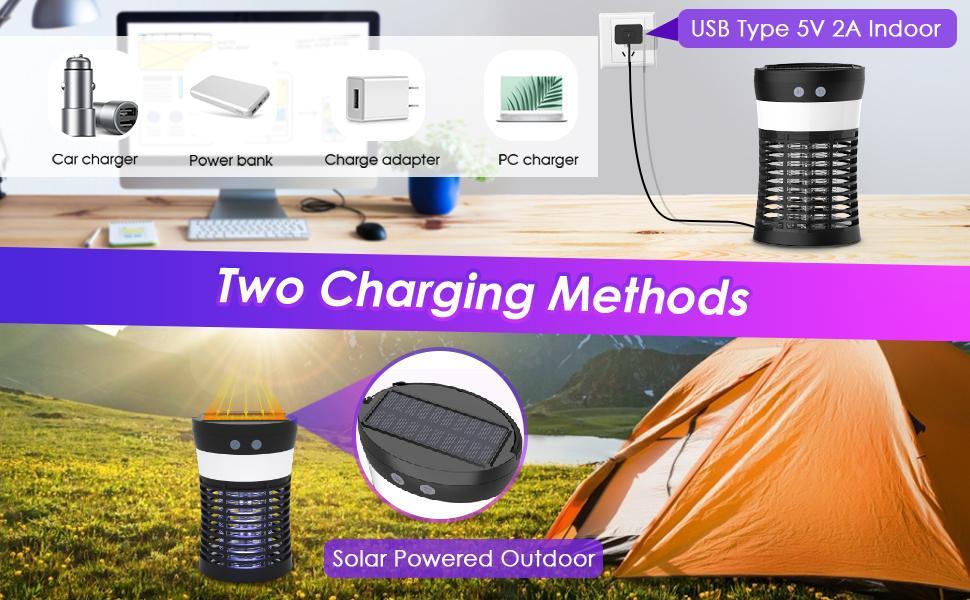 two charging methods