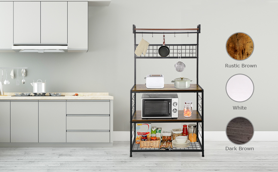 Kitchen Baker's Rack - Three Different Color Available