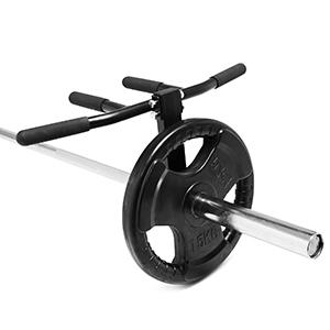 Multi grip landmine row bar