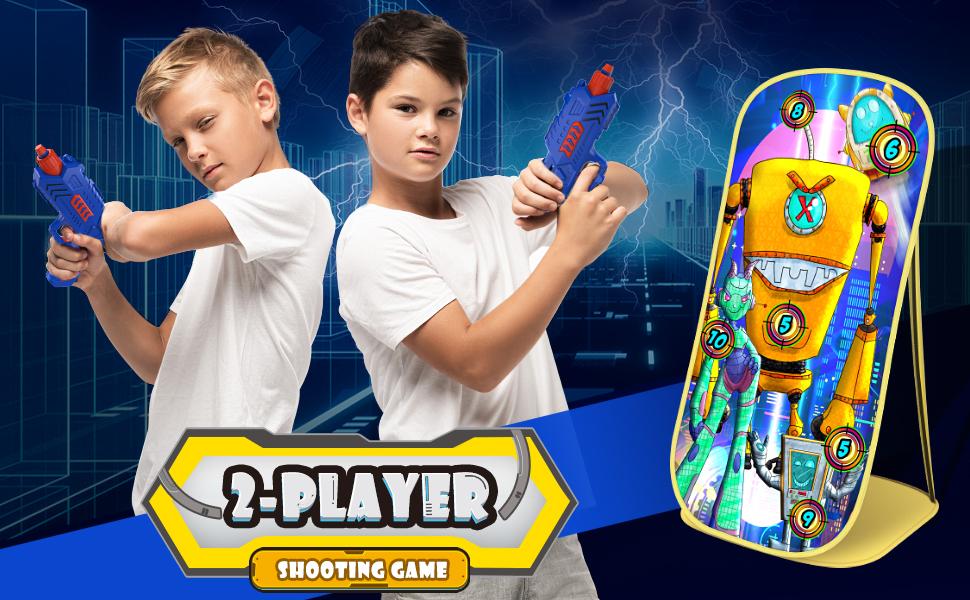 2 player shooting game