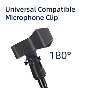 Compatible Microphone clip
