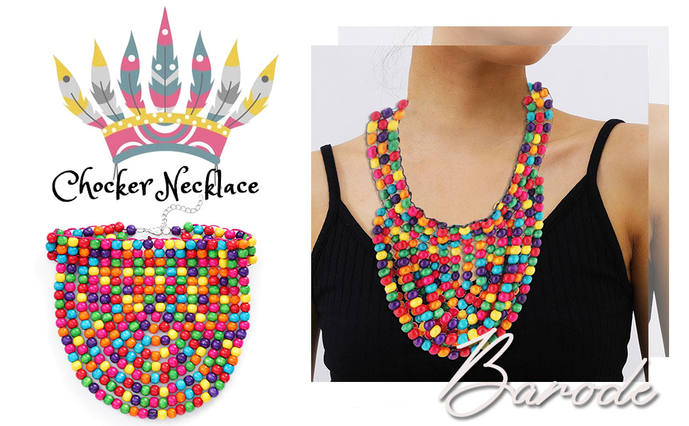 African Necklaces Women Chockers