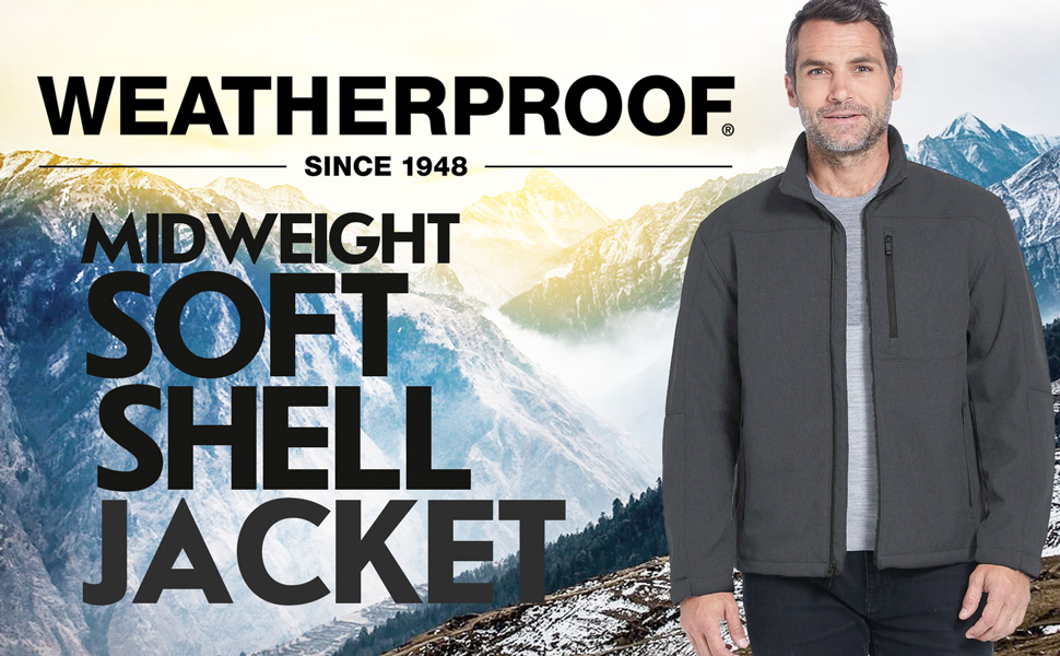 Weatherproof Midweight Soft Shell Jacket