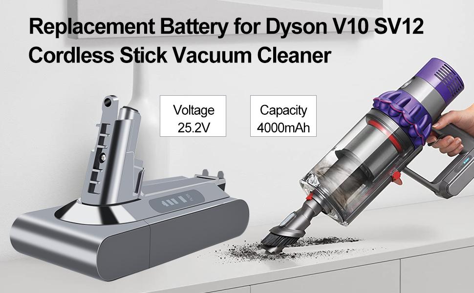 dyson v10 battery