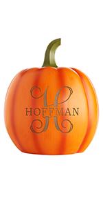 Name and Initial Pumpkin